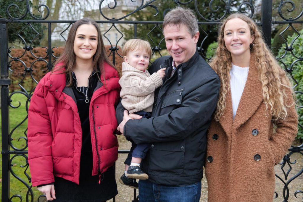 Outdoor family portrait in Somerset
