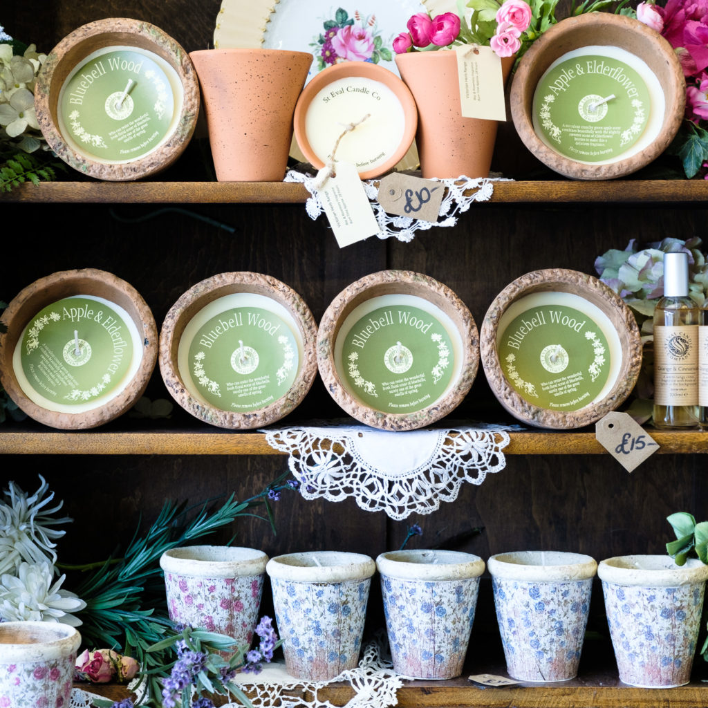 Personal Branding Photography with Number Ten Interiors - scented candle display