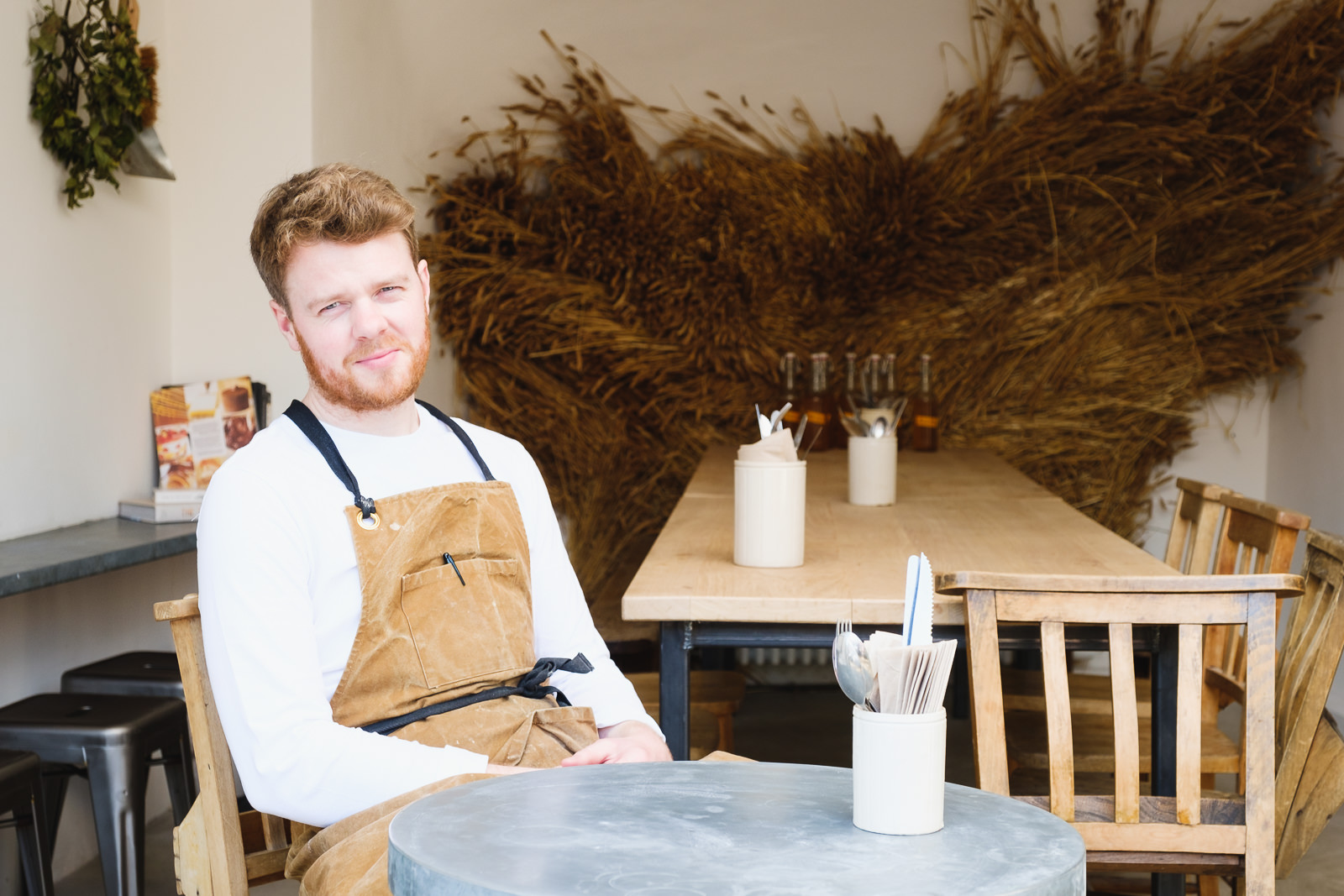 Personal Branding Photography - with new artisan bakery Landrace in Bath