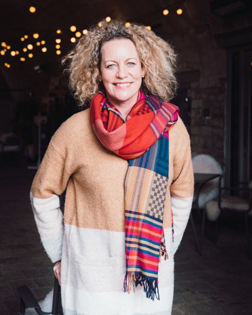 Personal branding photo of Alena Bissinger - resident artist at Made in Bradford on Avon